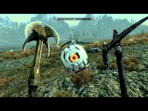 Space Core in Skyrim! Official Valve Mod!