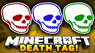 getlinkyoutube.com-Minecraft DEATH TAG! #4 (Funny Mini-Game!) - w/ Preston, JeromeASF & Choco