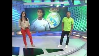 Esporte Espetacular: Cristiano Ronaldo se torna o jogador mais bem pago do planeta |HD| - 22/09/13