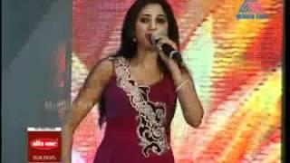 getlinkyoutube.com-Zoobi Doobi,Yeh Ishq Hai Shreya Ghoshal In Mathrubhumi Film Awards