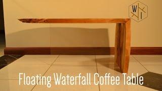 getlinkyoutube.com-Floating Waterfall Coffee Table
