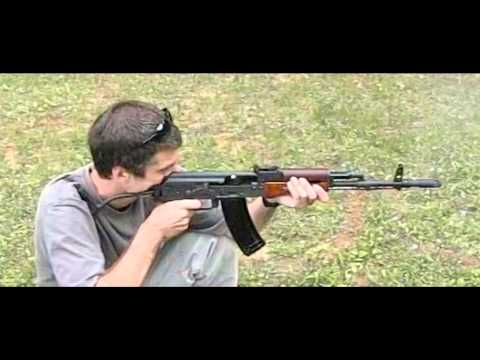 Polish Tantal AK74 (karabinek wz. 88) in high speed