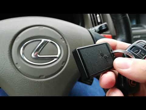 Проблема имобилайзера Lexus rx 300