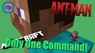 getlinkyoutube.com-Only One Command|Ant-Man in Vanilla Minecraft!  (CHANGED TO TWO COMMAND)