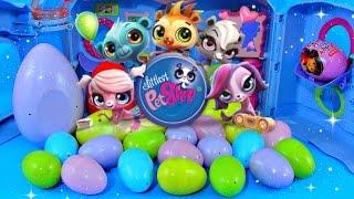 getlinkyoutube.com-LPS Surprise Eggs!! Littlest Pet Shop Toys Dora