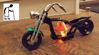 getlinkyoutube.com-Gyro Stabilised Motorbike Toy - FAIL