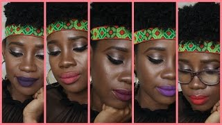 getlinkyoutube.com-La Girl Matte Pigment Gloss #THEPAINTEDLIPSPROJECT