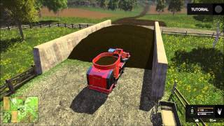 getlinkyoutube.com-(LS15) Kühe füttern mit dem Kuhn Futtermischwagen  - Landwirtschafts Simulator 2015