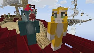 getlinkyoutube.com-Minecraft Xbox - Air Ship Battle Royal - Squid & Stampy Vs Choo Choo & Chache