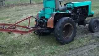 getlinkyoutube.com-Трактор своими руками культивация