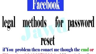 getlinkyoutube.com-Facebook password reset without Email And Number 100 % Working
