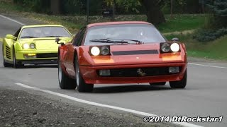 getlinkyoutube.com-Ferrari 512 BB Boxer driven hard
