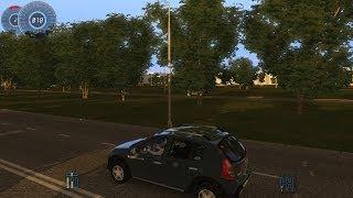 getlinkyoutube.com-City Car Driving 1.3.3 Renault Sandero Stepway [1080p]
