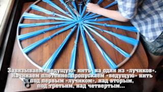 """getlinkyoutube.com-""""САМИЗДАТ"""": Делаем коврик из полиэтиленовых пакетов"""