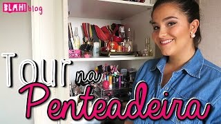 getlinkyoutube.com-Tour pela minha Penteadeira - Como organizo minhas Maquiagens   Blah!Blog