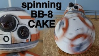 getlinkyoutube.com-STAR WARS BB8 CAKE How To Cook That Ann Reardon BB 8 cake