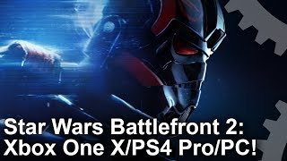 Star Wars Battlefront 2 - Xbox One X vs PS4 Pro vs PC Grafikai Összehasonlítás