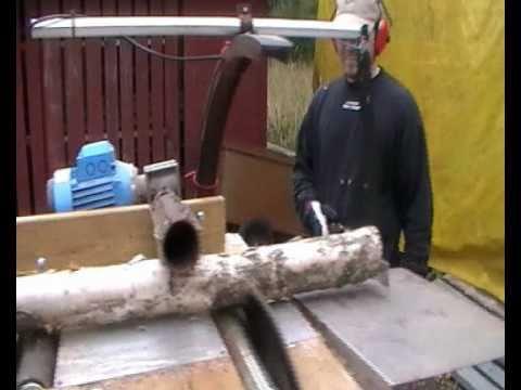 Vedmaskin - Firewood processor - Brennholz prozessor (hembygge)