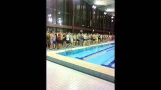 Plavecké štafety
