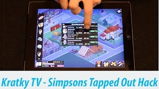 getlinkyoutube.com-Simpsons Springfield Money & Donut Hack german - Kratky TV