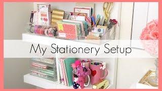 getlinkyoutube.com-Stationery Collection/Organization (+ Target $1 Items!) | erisaxo