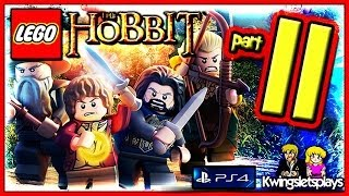 getlinkyoutube.com-Lego the Hobbit - Walkthrough Part 11 Elven Barrel Riding
