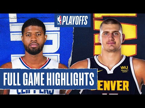CLIPPERS at NUGGETS | FULL GAME HIGHLIGHTS | September 7, 2020