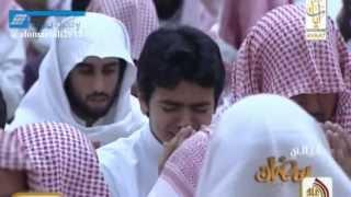 getlinkyoutube.com-ش ياسر الدوسري وفي ختمة لا توصف بكى و أبكى من خلفه 1434هــ كاملة