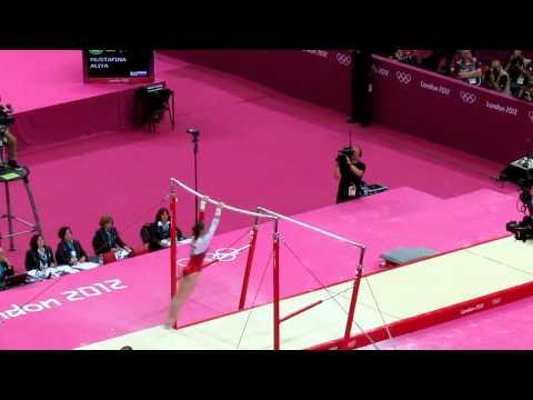 Mustafina Uneven Bars - Olympics 2012 Gymnastics