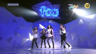 getlinkyoutube.com-f(x) - NU ABO Comeback Stage ( May,07,10 )