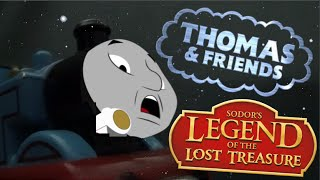 getlinkyoutube.com-Sodor's Legend of the Lost Treasure - ''Thomas falls into the Cavern'' - Remake Scene