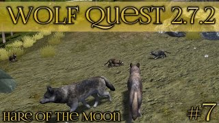 getlinkyoutube.com-Birth of the Curious Wolf Pups!! • Wolf Quest 2.7.2 - Hare of the Moon Season • Episode #7