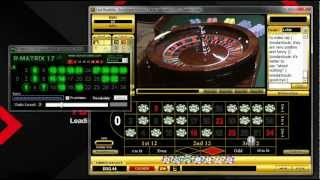 NEW R-Matrix 1.7. Session in eurogrand casino (best roulette software 2012)