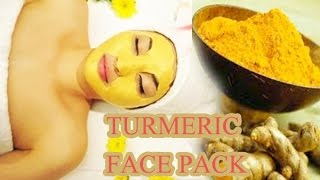 getlinkyoutube.com-DIY Turmeric Face Pack for Brighter and Glowing Skin