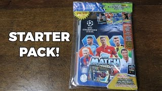 getlinkyoutube.com-Match Attax 2016/17 CHAMPIONS LEAGUE! Starter Pack Opening
