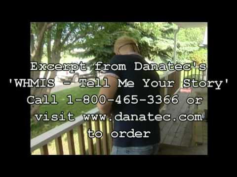 WHMIS 'Tell Me Your Story' Training DVD - Danatec