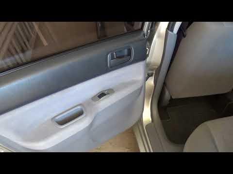 Восстановление дверных фиксаторов ограничителей на задней двери Mitsubishi Lancer 9. Видео 2