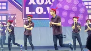 """getlinkyoutube.com-EXO - """"Peter Pan, XOXO, Lucky, & 3.6.5"""" EXOPLANET#2 EXO'luXion Dallas 160210"""