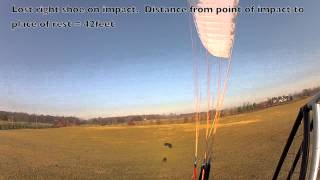 getlinkyoutube.com-Paramotor Crash