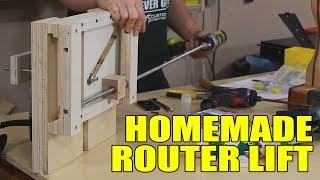 getlinkyoutube.com-Building A Router Lift - 141