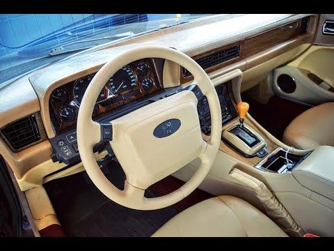 Jaguar XJ40 перетяжка руля!