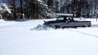 getlinkyoutube.com-Four wheel drive after blizzard in Laurel