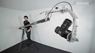 getlinkyoutube.com-Jib Crane with manual control Pan/Tilt head