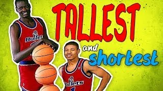 getlinkyoutube.com-Who Are The Tallest And Shortest Players in NBA History?