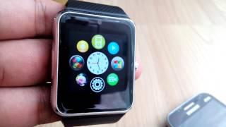 getlinkyoutube.com-GT08 Smart Watch จบเหมือนกัน มีกล้อง ใส่ซิมได้ด้วยนะ !!!