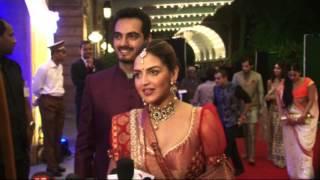 getlinkyoutube.com-Sunny Deol & Bobby Deol once again give a miss to Hema Malini's daughters Wedding
