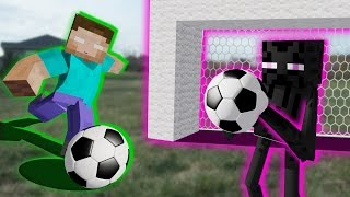 getlinkyoutube.com-Monster School: Soccer Part 2 - Minecraft Animation