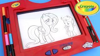 getlinkyoutube.com-Crayola Color Explosion Glow Board Kids Light Up Drawing Tablet