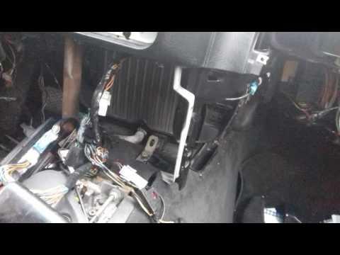 Замена радиатора печки BMW E36