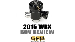getlinkyoutube.com-Go Fast Bits TMS Adjustable Blow Off Valve 2015+ Subaru WRX | Review and Sound Clips (GFB T9007)